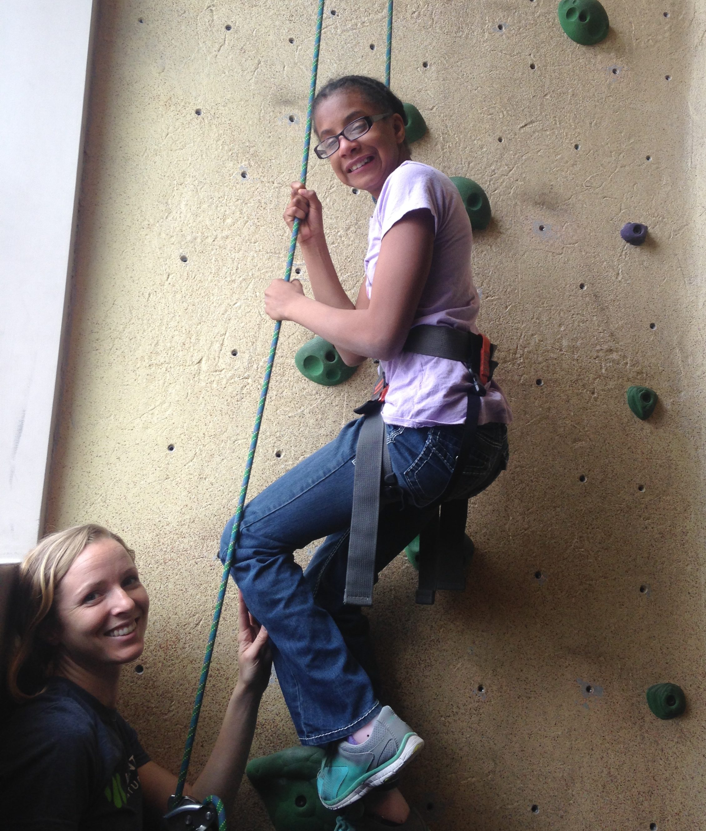 Rock Climbing with The Kennedy School