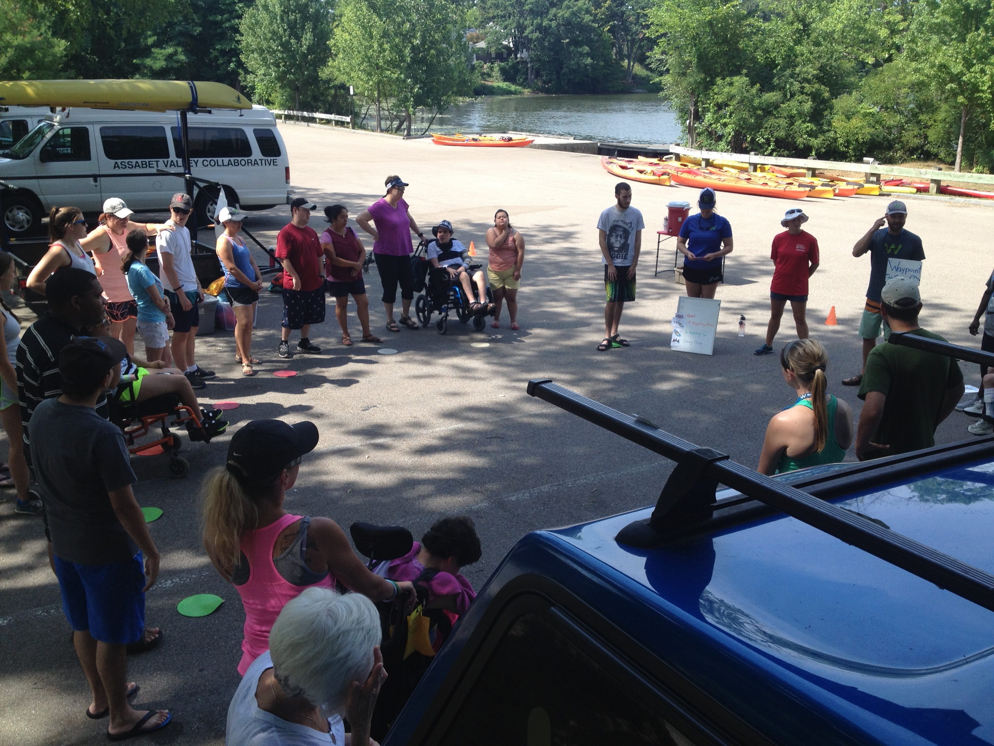 Time on the Water with Assabet Valley Collaborative