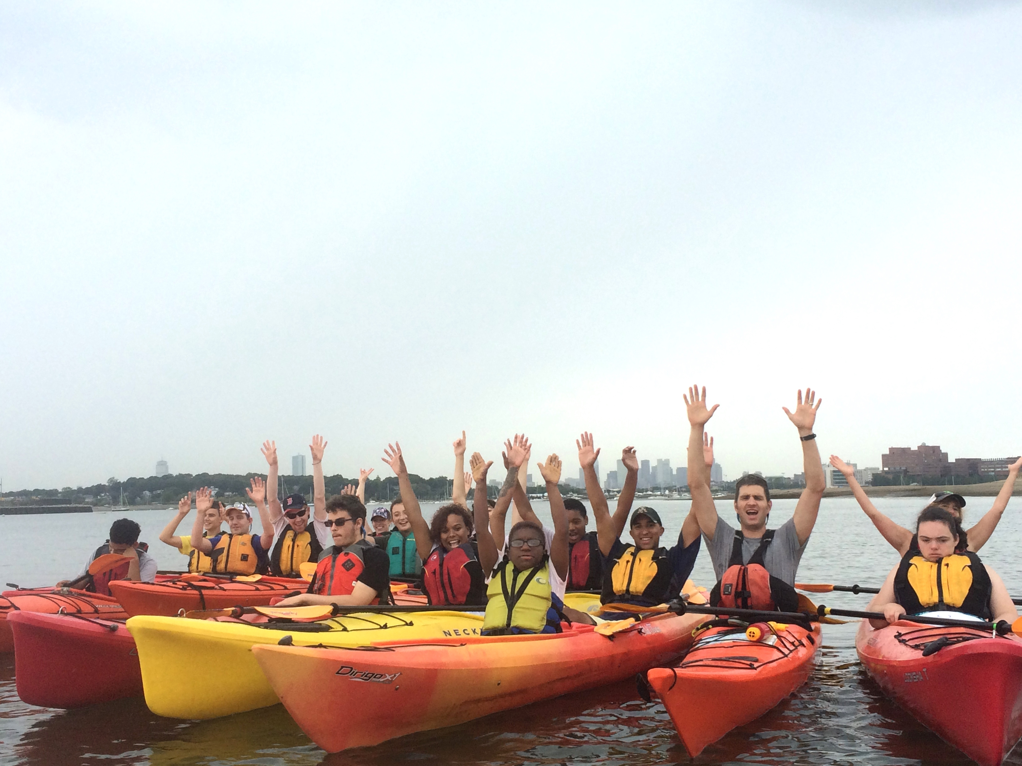 Paddling Boston Harbor with the May Center