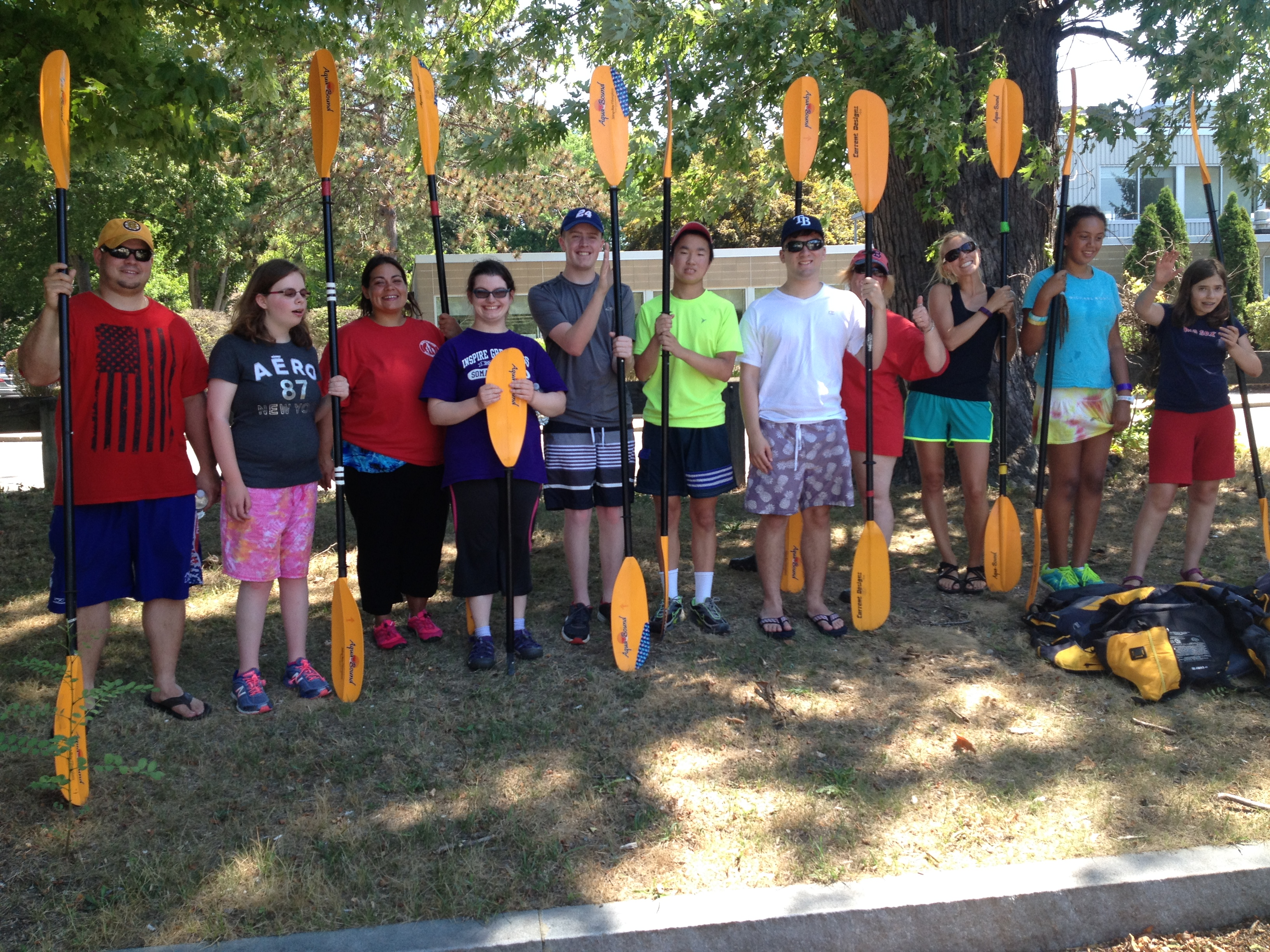 Burlington's Therapeutic Rec Department does the Charles