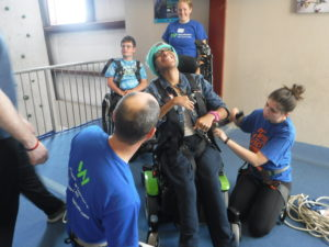 The Yachad Community goes rock climbing