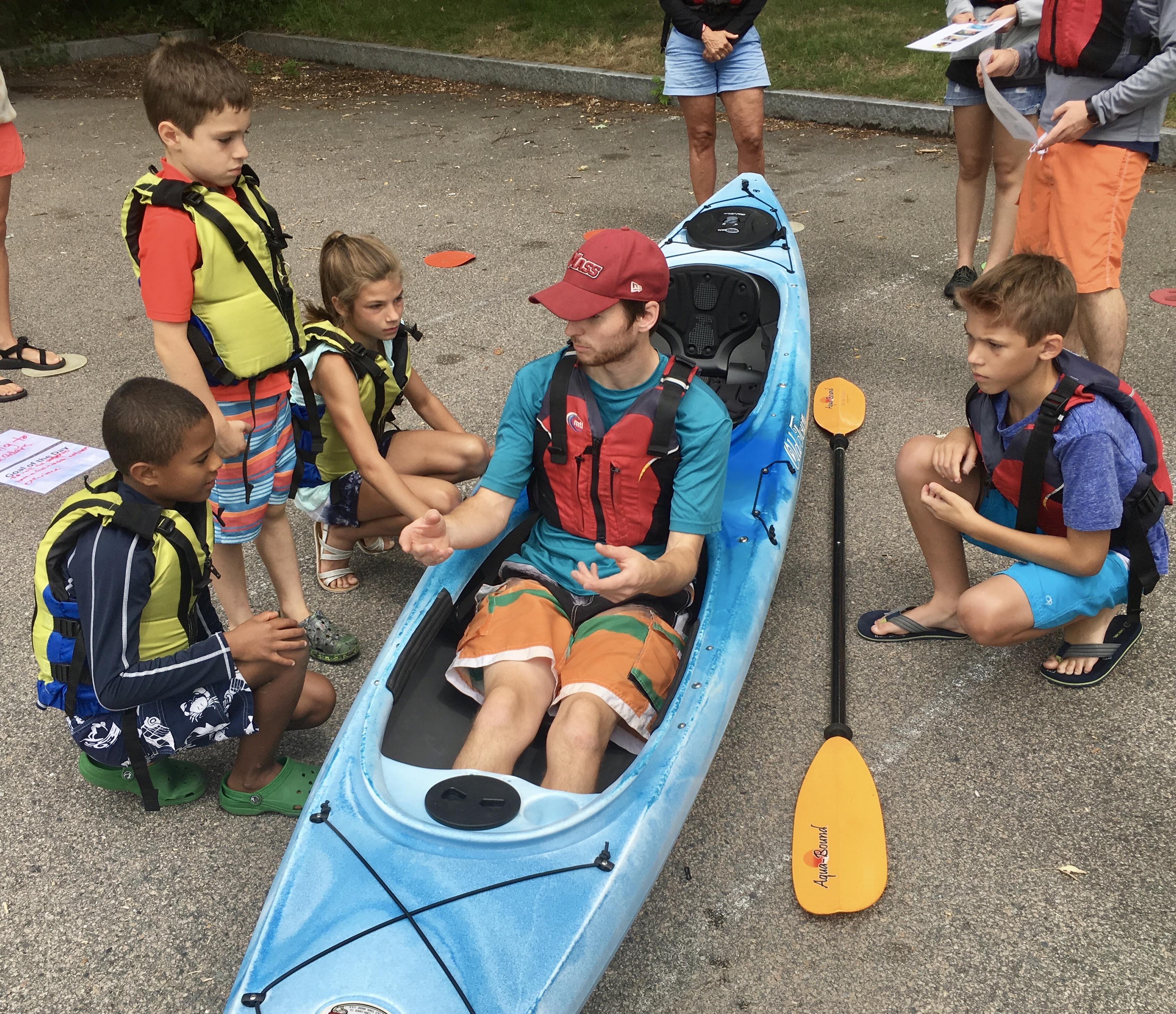 Kayaking pep talk