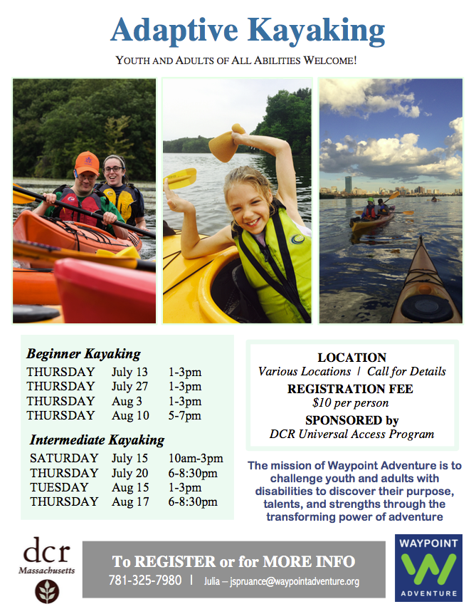 DCR Kayaking Flyer Screenshot