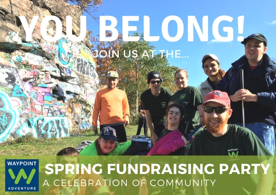 You Belong! Join us at the Spring Fundraising Party, A celebration of Community