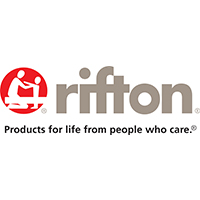 Rifton Logo with tagline