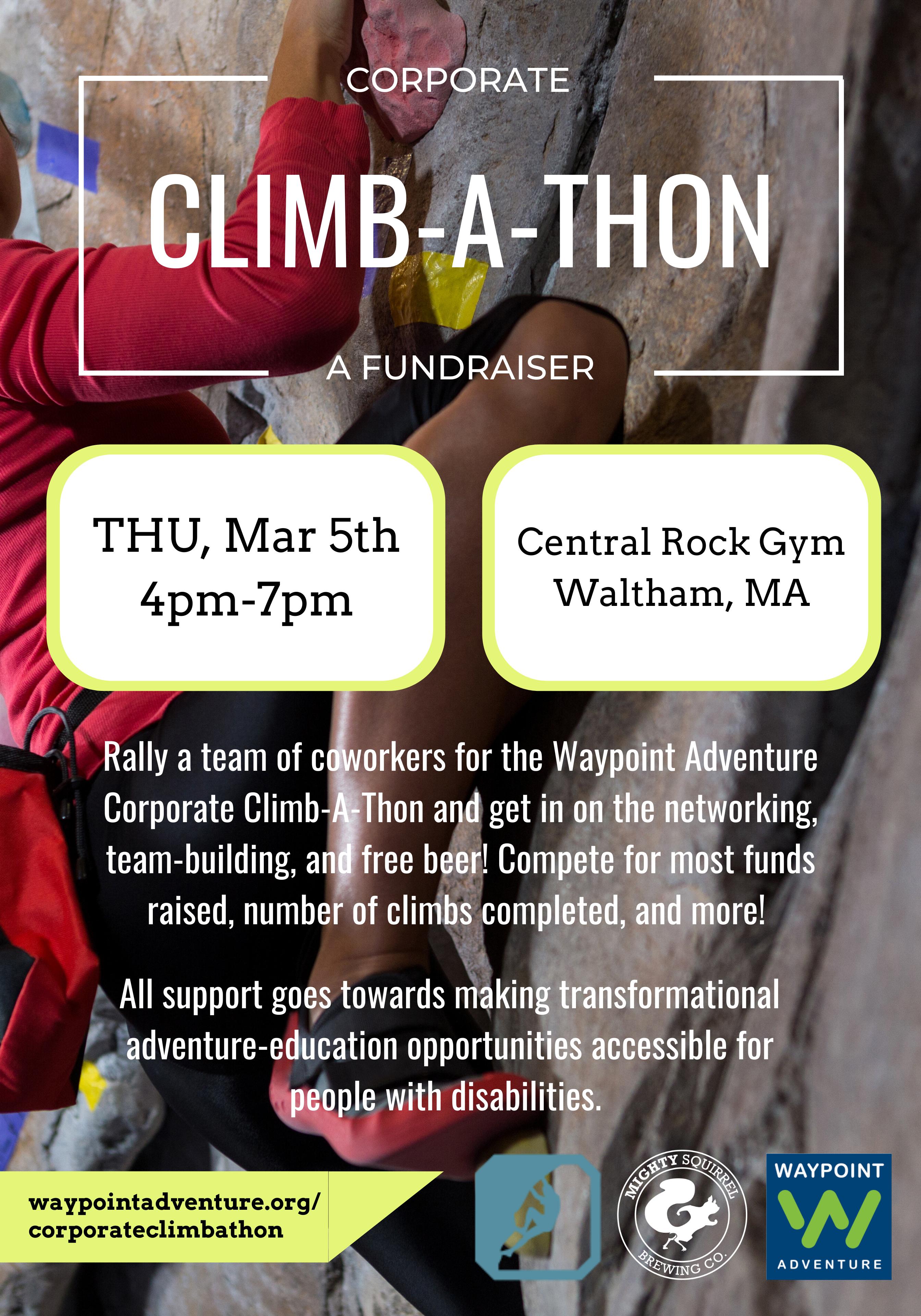 Corporate Climbathon Mar 2020