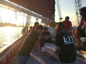 Leaders-In-Training Set Sail
