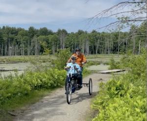 Jason Learning to Ride a Bike